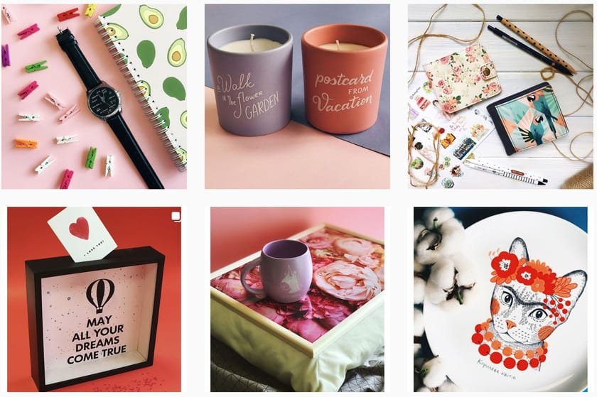 Сувениры и приятные мелочи на 8 марта