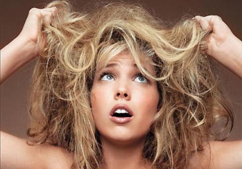 борьба с тусклыми волосами