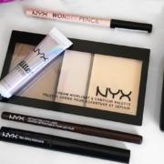 Обзор косметики NYX Cosmetics - глаза и лицо