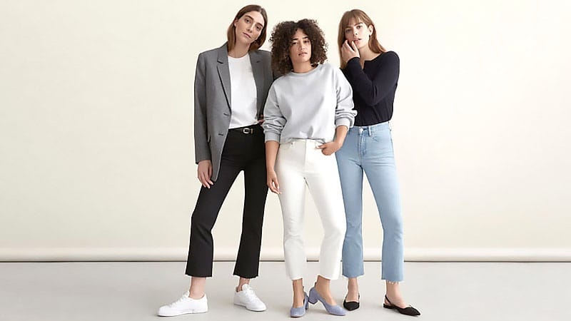 Как носить джинсы с высокой талией
