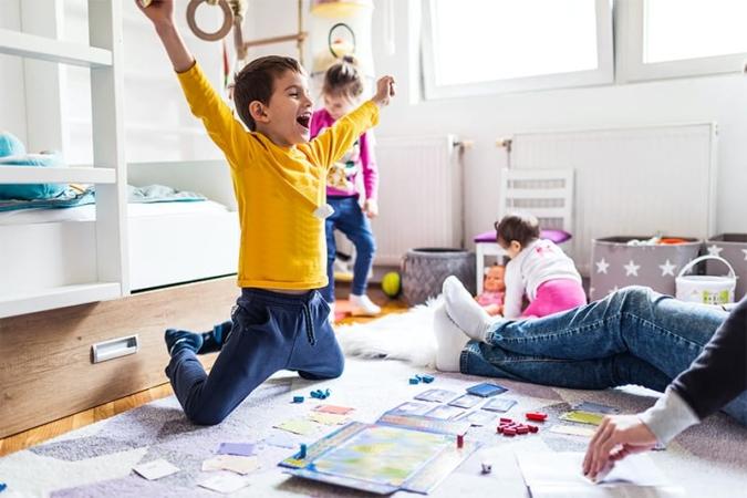 Настольные игры - развивающий досуг для вас и ваших детей