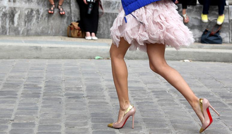 Элегантные женские туфельки