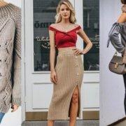 Зима 2020-2021: как правильно носить вязаные вещи